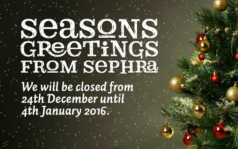 Seasons Greeting from Sephra.