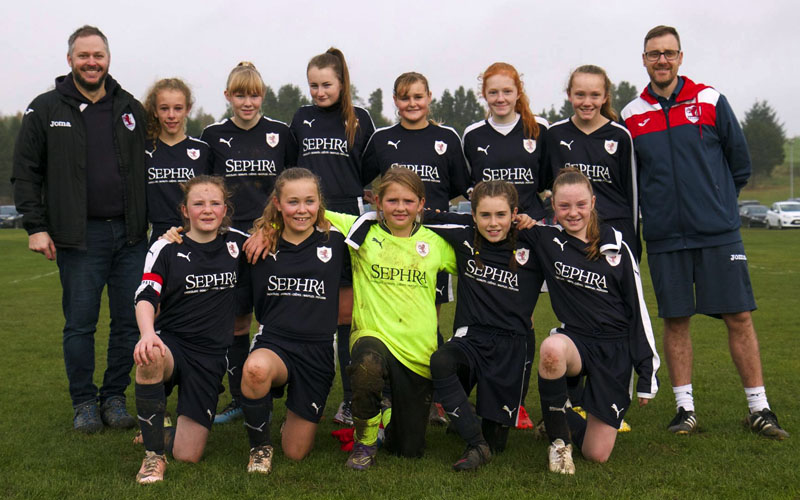 Raith Rovers Ladies and Girls FC U13's