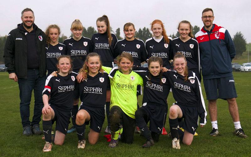 Raith Rovers Ladies and Girls FC U13's